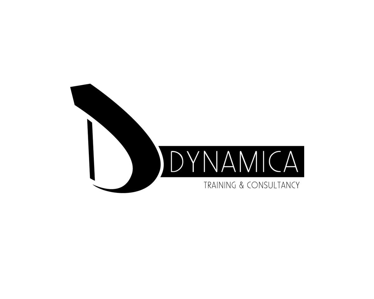 Dizajn logotipa i vizuelnog identiteta. DYNAMICA